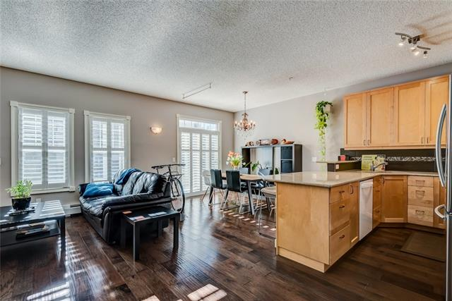 #107 112 14 AV SE, 2 bed, 1 bath, at $375,000