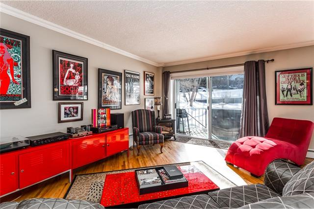 #208 823 ROYAL AV SW, 2 bed, 2 bath, at $369,900