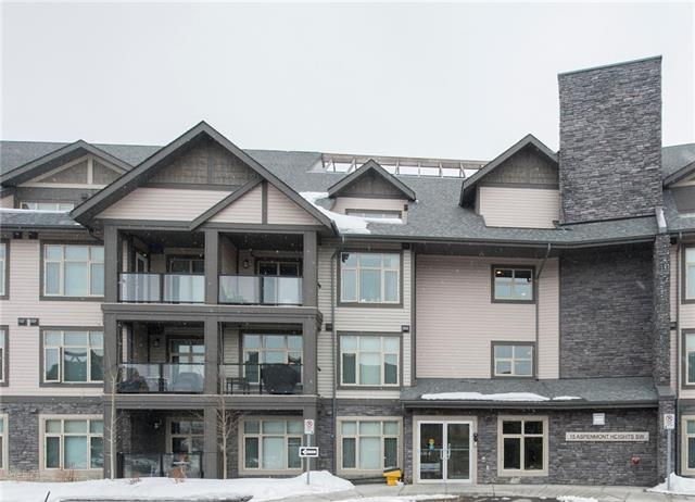 #214 15 ASPENMONT HT SW, 2 bed, 2 bath, at $350,000